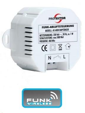 Empfänger Abluftsteuerung AS-6030