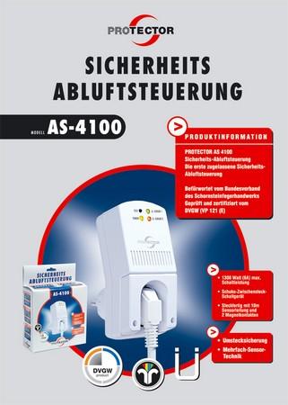 Abluftsteuerung AS-4100 Produktblatt