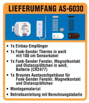 Lieferumfang Abluftsteuerung AS-6030
