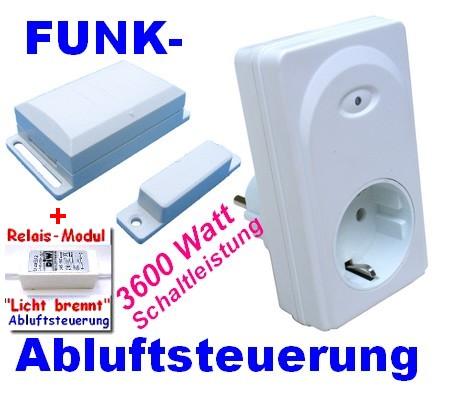 DFM-DZSplus Funk-Zu-/Abluftsteuerung