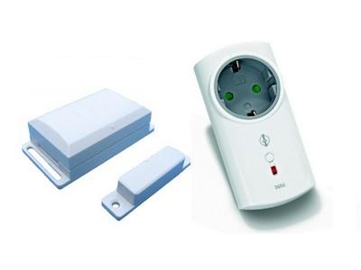 Funk-Abluftsteuerung mit Fenster-Sensor und Zwischenstecker 3500W DFM-ITLR