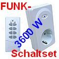 DIW Funk-Zwischenstecker-Schaltset 3600W DZ-3600