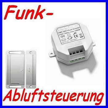 intertechno funk einbau abluftsteuerung kamin dunstabzug fensterkontaktschalter ebay. Black Bedroom Furniture Sets. Home Design Ideas