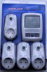 Lieferumfang 2 Sender + 1 Empfänger Energy Meter