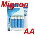 4er-Blister HQ Alkaline Batterien 1,5 V Mignon AA