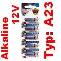 5er-Blister KINETIC Alkaline Batterien 12 V A23