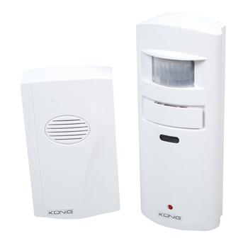 APW-10 Drahtloser Alarm mit Bewegungsmelder und Türglocke