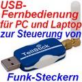 Tellstick TS001 Universal-USB-Fernbedienung für Wireless Home Control
