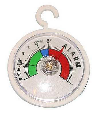 K�hlschrankthermometer MINI Du. 5,2 cm