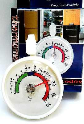 K�hlschrankthermometer rund Du. 7,2 cm