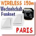 Funk-SET Wechselschaltung PARIS