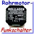 Funk-Einbau-Schalter zur Steuerung von Rohrmotoren oder Serienschalter