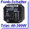 Funk-Einbau-Empfänger 2-Draht Triac EIN/AUS [klick]