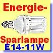 Energiesparlampe 6-Rohr Kompakt mit kleiner Fassung E14