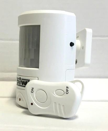 DAL-BM20 Alarmsystem Bewegungsmelder mit Alarmsirene und Funk-Fernbedienung