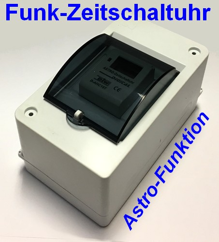 DAF-AHC15T FUNK-Zeitschaltuhr ASTRO-Funktion für Intertechno Funk-Empfänger