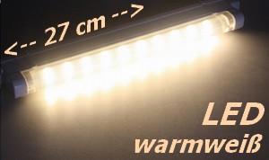 LED-Unterbauleuchte 2,5W SMD pro 27cm Lichtleiste 9-20021 Lichtfarbe warmwei�