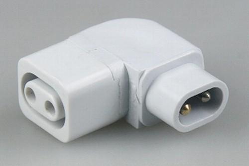 Verbindungswinkel  90° 9-20780 für LED-Unterbauleuchten 20020-23 20582+20583