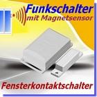 DFM-1000 Funk Fensterkontaktschalter Funk-Magnetsensor