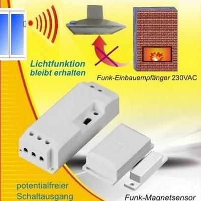 DAS-2090-E Funk-Abluftsteuerung Einbau
