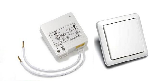 SPARSET-06: Funk-Wechselschaltung Intertechno ITL-230 + Wandsender NEU mit Timer