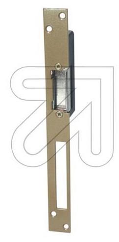 Elektrischer Türöffner E3804 mit geradem Schließblech und Entriegelung bis zum nächsten Schließen