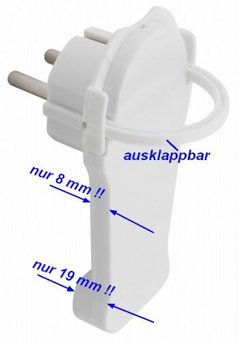 extraflacher Winkelstecker 1300480