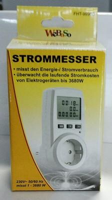 Verkaufsverpackung Energy-Meter FHT-9996G von DIW-GmbH.de