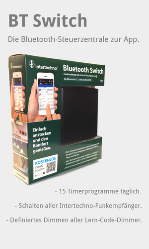 IT-BT Bluetooth-Switch Intertechno Verpackung