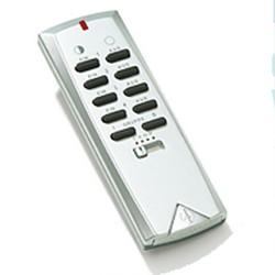 ITS-150 Funk-Handsender Fernbedienung silber Intertechno