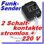 ITS-23 Funk-Dual-Sender www.Funkinstallation.de