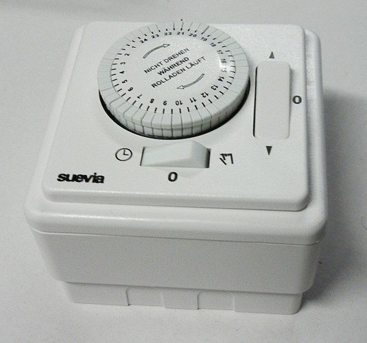 AP-Set mit Rollo-Zeitschaltuhr von Suevia