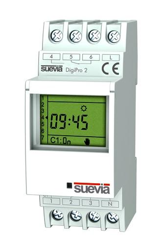 DigiPro-2 digitale Zeitschaltuhr von Suevia