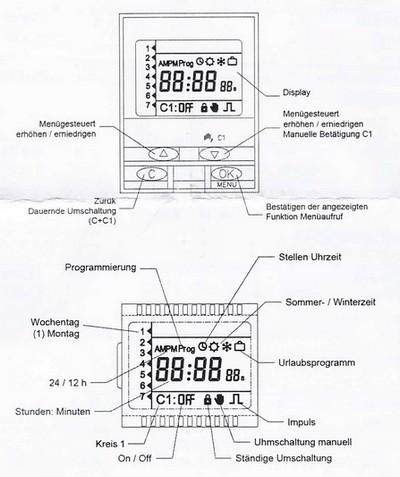 digipro digitale hutschienen zeitschaltuhr suevia 8426709800031. Black Bedroom Furniture Sets. Home Design Ideas