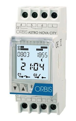 ASTRO-NOVA-CITY Astronomische Zeitschaltuhr von ORBIS