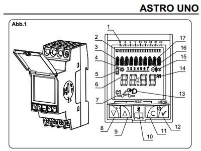 ASTRO-UNO Astronomische Zeitschaltuhr von ORBIS