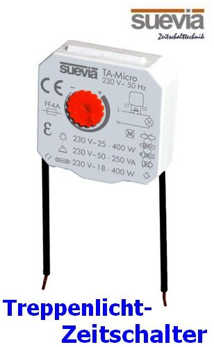 TA-Micro Treppenlicht Zeitschalter-Modul von Suevia
