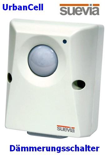 UrbanCell Dämmerungsschalter 5-200 Lux 230V 16A von Suevia