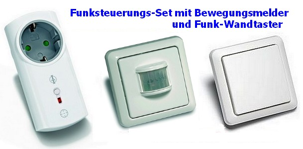 funksteuerung f r warmwasser umw lzpumpe mit bewegungsmelder taster intertechno ebay. Black Bedroom Furniture Sets. Home Design Ideas