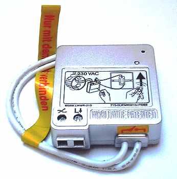 Funk-Modul für alle Lichtschalter © www.funkinstallation.de