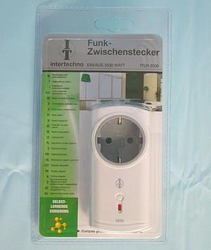 Funk-Zwischenstecker ITLR-3500