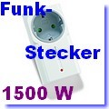 Funk-Zwischenstecker 1500 Watt ITR-1500[klick]
