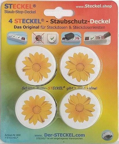 Deko-STECKEL Deko Steckdosen Abdeckung Sonne_12