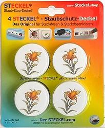 Deko-STECKEL Deko Steckdosen Abdeckung Blume Lotus-40