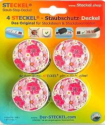 Deko-STECKEL Deko Steckdosen Abdeckung Blumenball 70