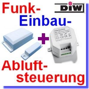 DFM-CMR Funk-Einbau-Abluftsteuerung 1000W[klick]