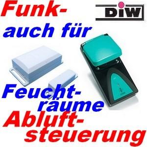 Funk-Abluftsteuerung DFM-GRR bis 3500 Watt - auch für Feuchträume (c) www.Funk-Abluftsteuerung.de