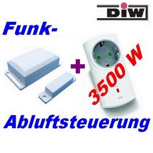 Funk-Abluftsteuerung DFM-ITLR bis 3500 Watt (c) www.Funk-Abluftsteuerung.de