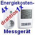 Funk-Energiekosten-Messgerät FHT-9998-Set4