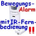 APR-10 Bewegungs-Alarm mit IR-Fernbedienung